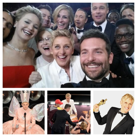 Ellen Oscars picstitch