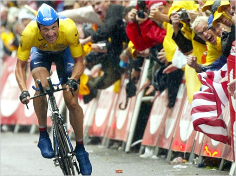Cheering Lance on
