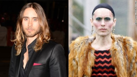 jared leto make up