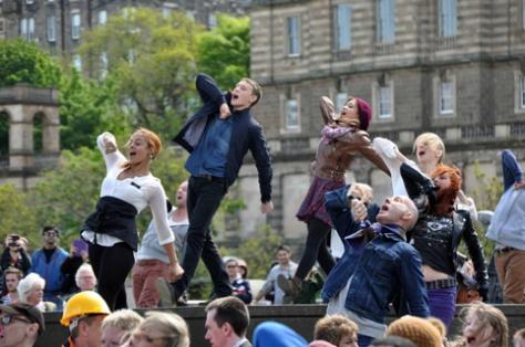 Flash mob!