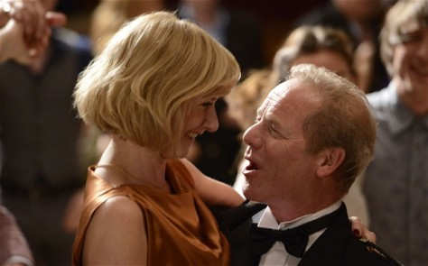Jane Horrocks and Peter Mullan