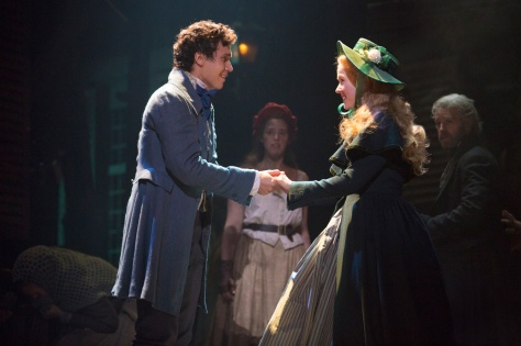 Euan Doidge and Emily Langridge as Marius and Cosette