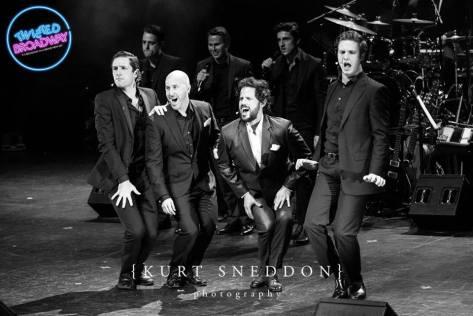 Joel Parnis, Matt Heyward, Daniel Belle & Joshua Robson - Dreamgirls medley