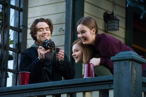 Jamie Blackley, Chloë Grace Moretz, & Liana Liberato