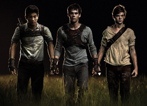 Ki Hong Lee, Dylan O'Brien, & Thomas Brodie-Sangster (a.k.a. the cute little kid from Love Actually!)