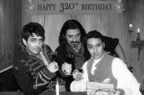 Jonathan Brugh, Jemaine Clement & Taika Waititi