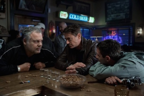 Vincent D'Onofrio, Robert Downey Jr. & Jeremy Strong