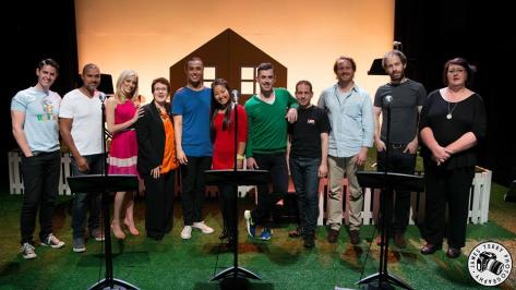 Cast & Crew of Happy People in Concert at Chapel off Chapel