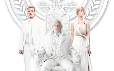 Josh Hutcherson, Donald Sutherland & Jena Malone