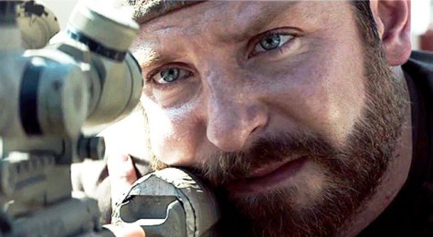 Bradley Cooper giving some moral complexity to his character