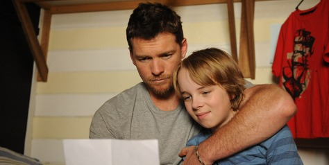 Sam Worthington & Ed Oxenbould
