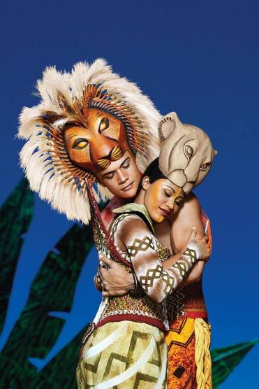 Image result for the lion king musical can you feel the love tonight