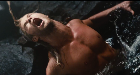 There didn't seem to be much point to this scene other than Chris Hemsworth getting his shirt off