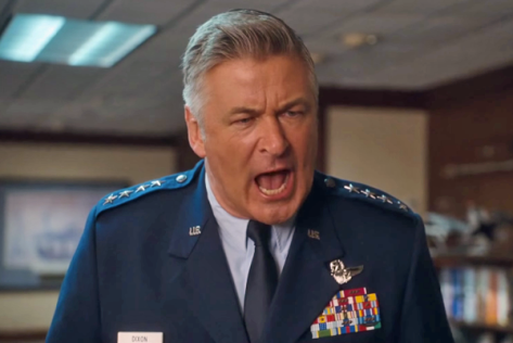 It's apt that at this point Alec Baldwin is yelling