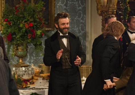 Michael Sheen has never been so adorable.