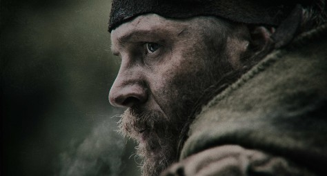 Tom Hardy pulling focus