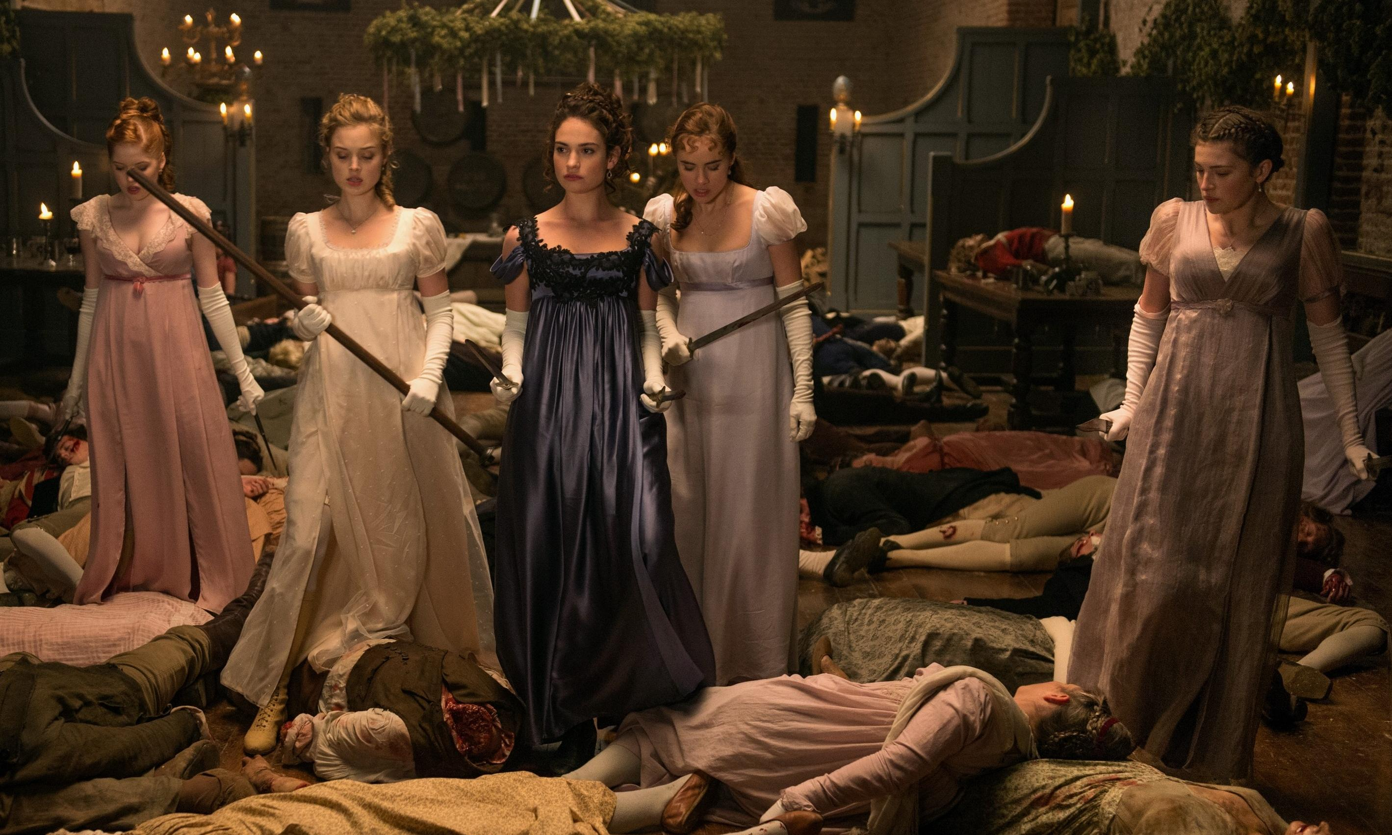 FILM REVIEW: Pride and Prejudice and Zombies | clairestbearestreviews