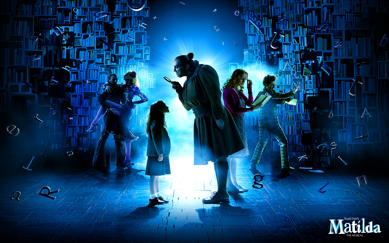 Matilda broadway poster images for The broadway