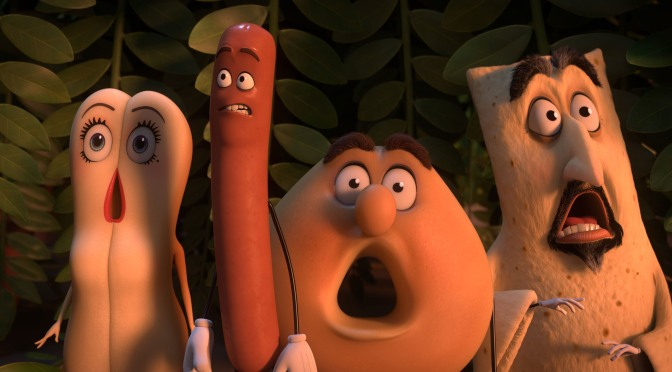 Short 'n' Sweet Reviews: Sausage Party, The Shallows & Tickled