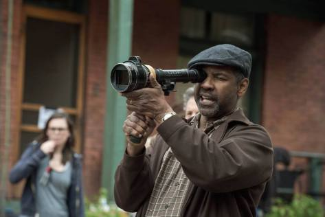 Denzel in dual roles as director and star.