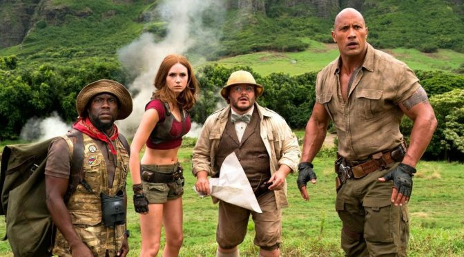 FILM REVIEW: Jumanji: Welcome To The Jungle (2017)