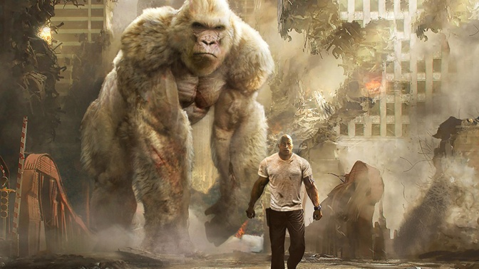 FILM REVIEW: Rampage (2018)